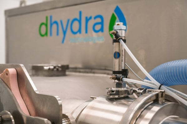 Dhydra Technologies cannabis drying maching using rapid low temperature dehydration (RLTD) technology